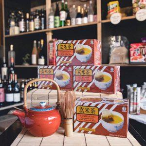 Genmaicha tea bags at Japan's Kitchen