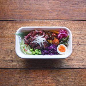 Chilled Roast Beef Bento at Japan's Kitchen